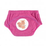 * CuddleMe - Adjustable Training Pants *MISTY FUSCHIA (Squirrel)*