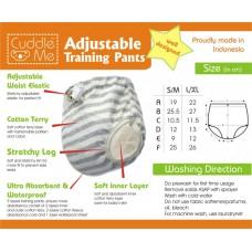 * CuddleMe - Adjustable Training Pants *NAVY*