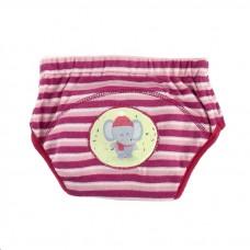 * CuddleMe - Adjustable Training Pants *STRIPE RED (Elephant)*