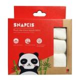Snapkis - Plush Bamboo Washcloths