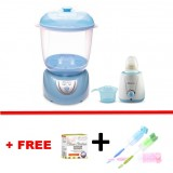 Autumnz - 2-in-1 Electric Steriliser & Dryer (Blue) + Home Warmer Combo *with FREE GIFT*