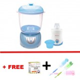 Autumnz - 2-in-1 Electric Steriliser & Dryer (Blue) + Home & Car Warmer Combo *with FREE GIFT*