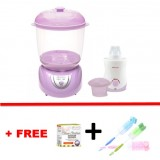 Autumnz - 2-in-1 Electric Steriliser & Dryer (Lilac) + Home & Car Warmer Combo *with FREE GIFT*