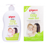Pigeon - Baby Wash 2in1 1 Litre + Refill 900ML *BEST BUY*