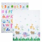 AUTUMNZ PE Foldable Baby Playmat - SIZE M *Jungle Safari / Alphabets*