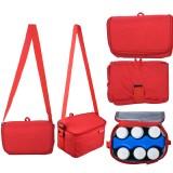 Autumnz - Fun Foldaway Cooler Bag (Candy Red)