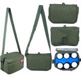 Autumnz - Fun Foldaway Cooler Bag (Pine Green)