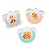 NUK - Disney Winnie the Pooh Silicone Soother S1 (0-6mth)