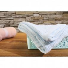 Comfy Living -  Cellular Blanket (L) 100x140cm  *Blue*