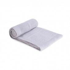 Comfy Living -  Cellular Blanket (L) 100x140cm  *Grey*