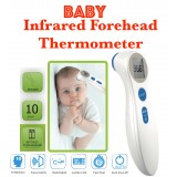 Non Contact Infrared FOREHEAD Thermometer (For Adult and Baby) Non-Contact Infrared Forehead Thermometer