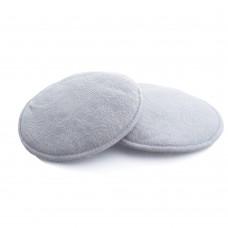 Autumnz - Basic Lacy Washable Breastpads 6 pcs *Grey Lace*