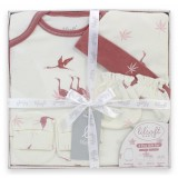 Lilsoft Baby - 4pcs Gift Box *LI-3106 Crane*