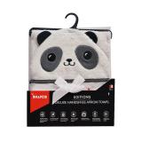Snapkis - Newborn To Toddler Apron Towel *PANDA*