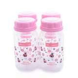 Autumnz - PP Breastmilk Storage Bottles (4 packs) - Ladybird *PInk*