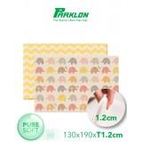 Coby Haus - Parklon Pure Soft Mat L190 x W130 x T1.2cm *Little Elephant / Zig Zag*