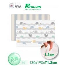 Coby Haus - Parklon Pure Soft Mat L190 x W130 x T1.2cm * Happy Whale / 2Tone Stripe*