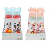 Anakku - Disney Baby (Micky Hood) Standard Neck PP Feeding Bottle 8oz Twin Pack* BEST BUY