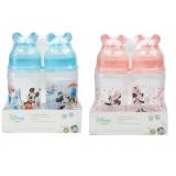 Anakku - Disney Baby (Micky Hood) Wide Neck PP Feeding Bottle 8oz Twin Pack* BEST BUY