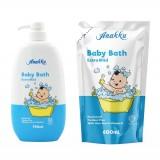 Anakku - Baby Bath 750ml Bottle + Refill 600ml* BEST BUY