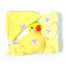 Adorable Star Baby Gift Set - Yellow (5 pc set)