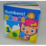 Adorable - Count Numbers 123 Cloth Book