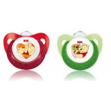 NUK- Disney Sleeptime Silicone Soother S1 (0-6mth) *2pcs*