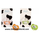 Basilic - Soother In Orthodontic Shape-*Size S* *BPA FREE (D039)