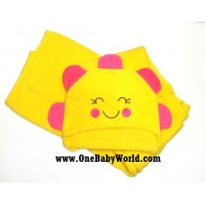 Adorable - 'All Wrapped Up' Hooded Bath Towel *SunFlower*