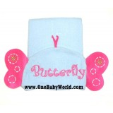 Adorable - Animal Hooded Bath Towel *Blue Butterfly*