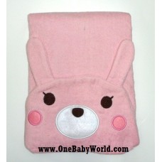 Adorable - Animal Hooded Bath Towel *Pink Bunny*