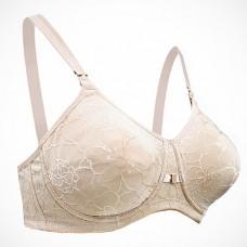 Seamless Support Maternity/Nursing Bra( w indicator buckle) - Nude