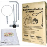 Baby Love - Mosquito Net XL & Stand (for 4-in-1 Baby Cot) (BL3502s) *BEST BUY*