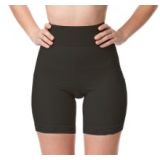 Support High Waist Shaper Girdle - Black / Nude