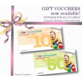 Gift Vouchers (for Online redemption only)