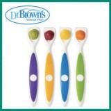 Dr Brown's - Long Spatula Spoon (4pcs)