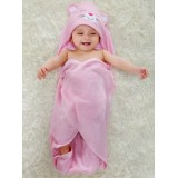 Adorable - Bamboo Hooded Towel with Box *My Pink Kitty*