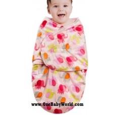 Swaddle Blanket - Elephant Kingdom *Pink*