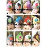 Adorable - Knot Hat *Floral/Owl*