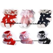 Adorable - 3pcs Princess Socks *PREMIUM*