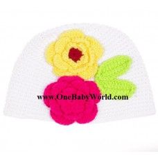 Adorable Crochet Hat *Elegent Colors*