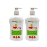 Baby Organix - ExtraGentle TTT Cleanser (400ml) *Rose Oil* TWIN PACK