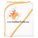 Adorable - MyVerySoft Hooded BBTowel *Mom and Dad Love Me*