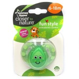 Tommee Tippee - CTN FUN Style Soother (6-18 mths) *Grasshopper*