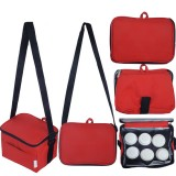 Autumnz - Fun Foldaway Cooler Bag (Scarlet Checks)